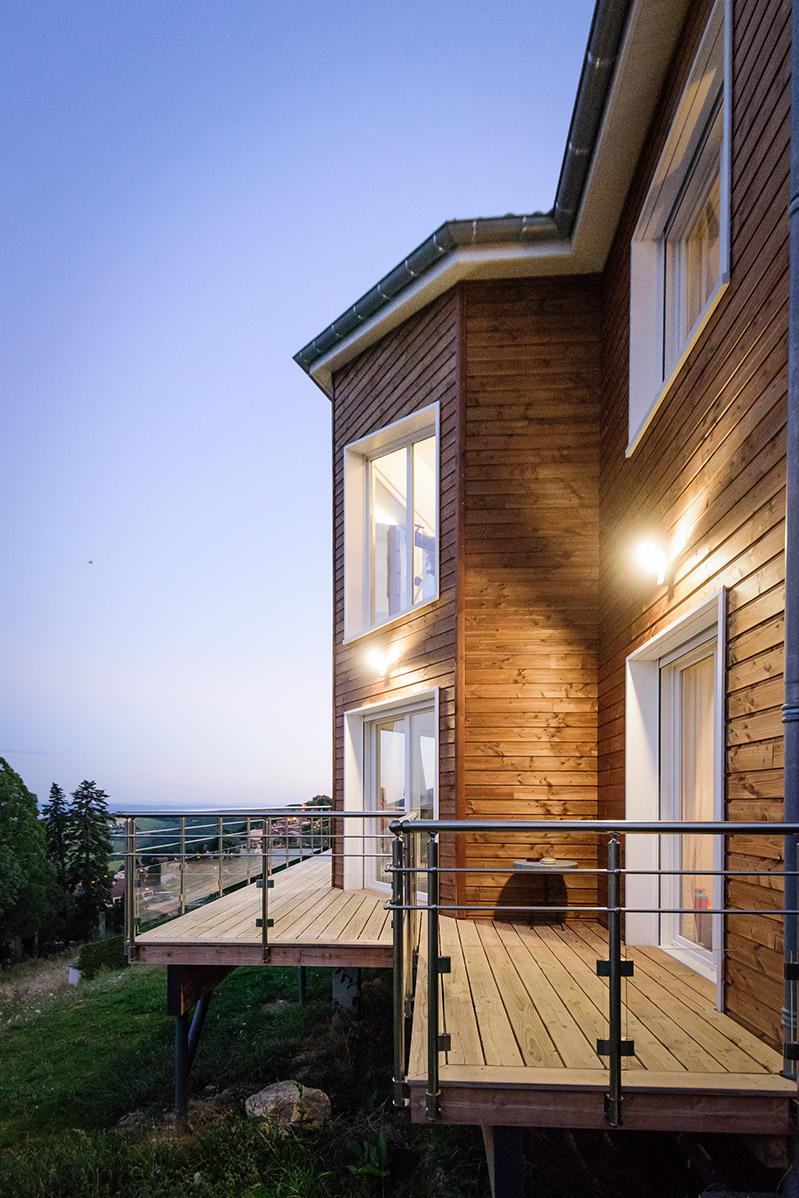 Construction maison bois Saint-Etienne